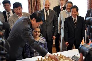 Echecs en Mongolie : l'Indienne Humpy Koneru © site officiel