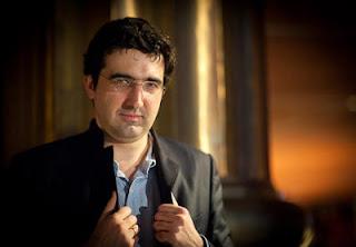 Echecs à Bilbao : Vladimir Kramnik vainqueur © Photo Fred Lucas