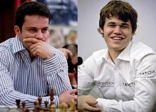 Echecs à Nanjing : Bacrot-Carlsen