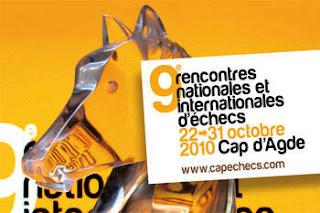 Echecs au Cap d'Agde: une belle réussite !