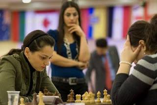 Echecs à Hatay : la championne du monde en titre Alexandra Kosteniuk