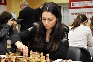 Echecs à Moscou : Aleksandra Kosteniuk