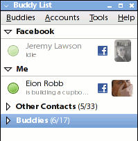 How to chat with Your  Facebook Friends in Pidgin (Ubuntu)
