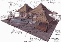 Traditional Balinese Architectural Kayu Aga House - World