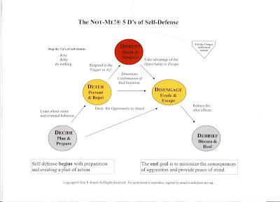 Making Sense Of Self Defense 1 The 5 D 39 S Of Self Defense