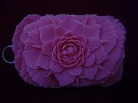 kreasi sabun ukir mawar