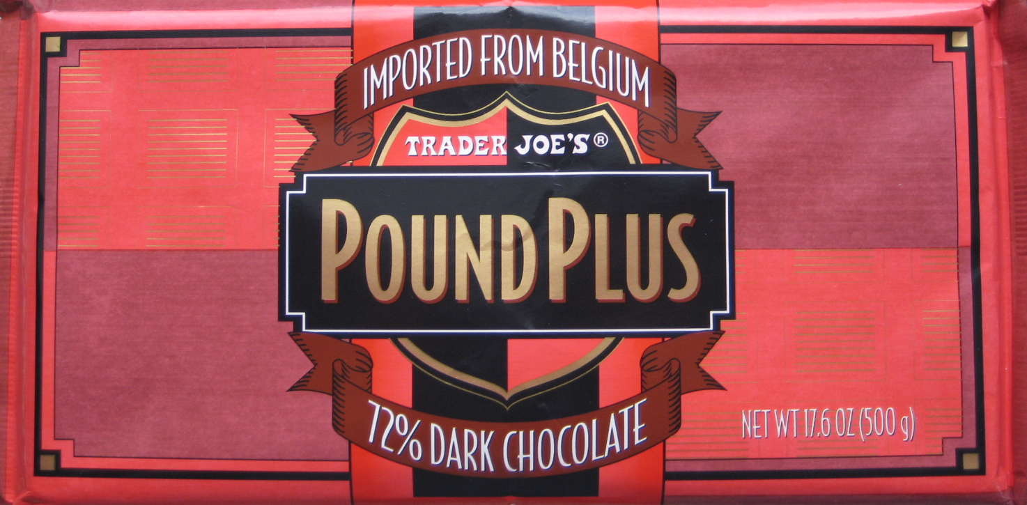 One Golden Ticket: Review: Trader Joe's 72% Dark Chocolate Belgian Chocolate Brands