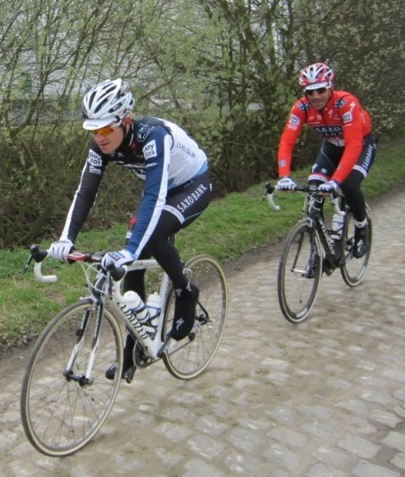 paris roubaix bikes. Paris Roubaix and SAXO Bank