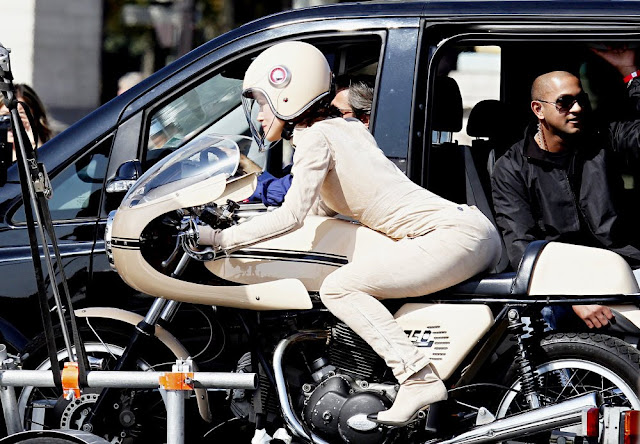 Keira Knightly Chanel Ducati