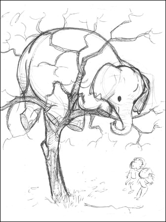Labels: Elephant Tattoos Design New Elephant in Tree Tattoo