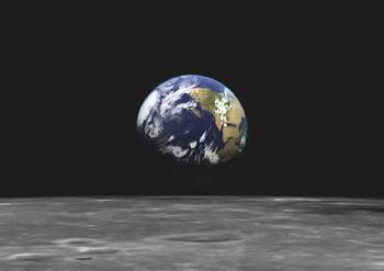 Planeta Terra Visto da Lua