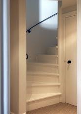 Main door facing the stair