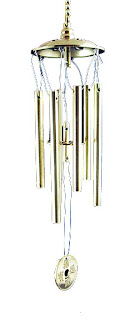 6 rods wind chime