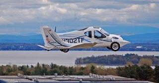 سيارة طائرة لمساعدة الجنود