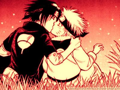 naruto sasuke kiss
