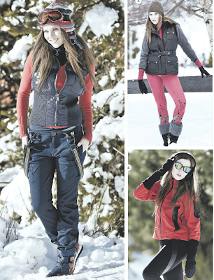 moda joven para la nieve