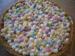 The Sporadic Cook: Spring Cookie Pizza