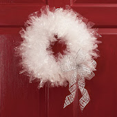 ICICLE CRYSTAL WREATH