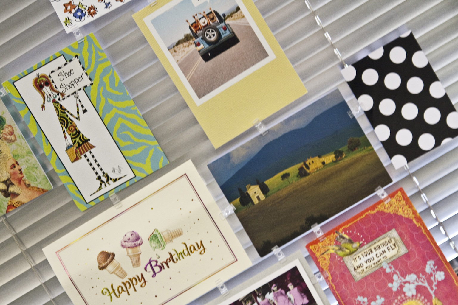 Birthday cards and paying it forward friedas inc the with the popularity of email texting facebook and electronic greeting cards you would think that the greeting card industry would be suffering kristyandbryce Images