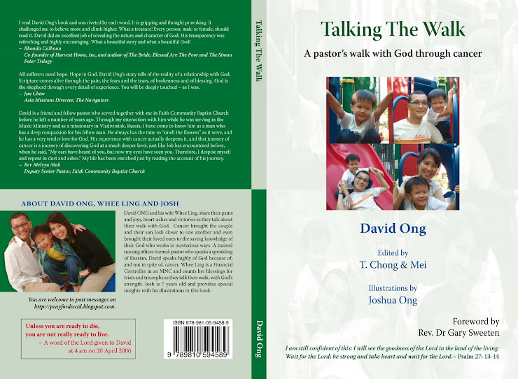 "David's Book, ""Talking the Walk"""