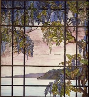 L'art du vitrail selon Tiffany