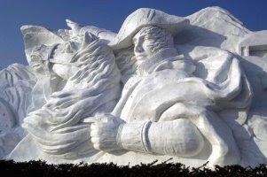 Sculpture sur glace (partir 2)