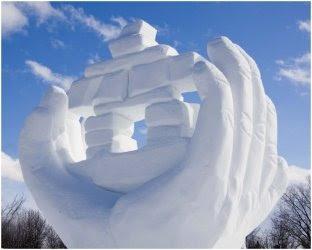 Sculpture sur neige(3)