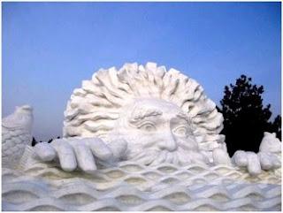 Sculpture sur neige (1)