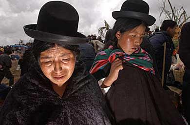 bolivianas