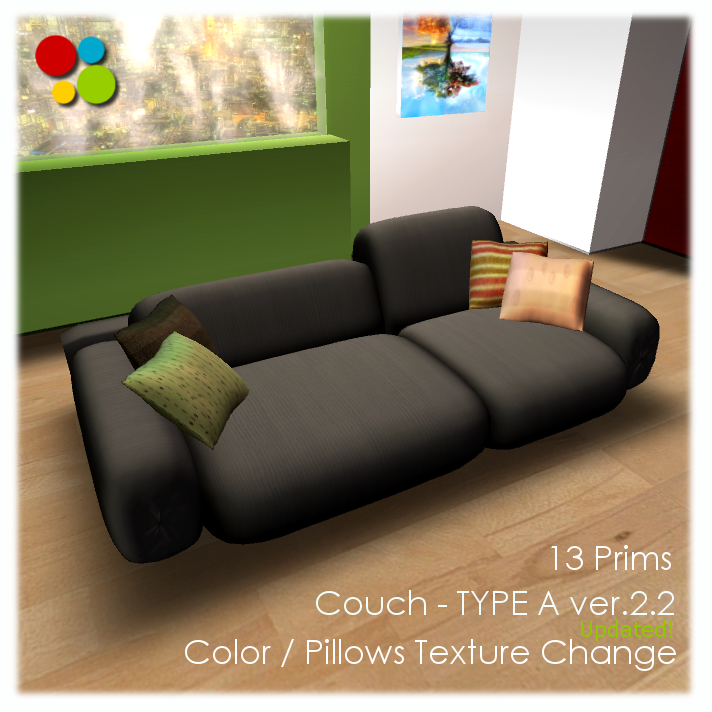 Couch   TYPE A (Color Change)   Ver.2.15