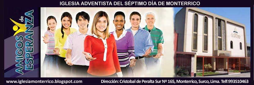 iglesia adventista monterrico