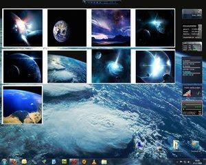 ערכות חלל לחלונות 7 + 75 טפטים מטלסקופ החלל האבל