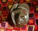 Solid Milk Chocolate Rose