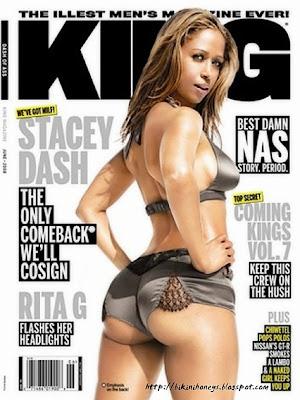 Stacey Dash King Magazine
