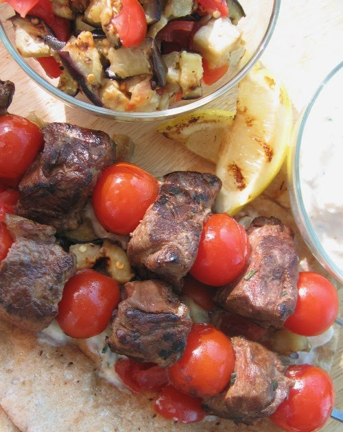 Food Blogga: Guys, Grilled Lamb, and Giada (Well, More Bobby Flay ...