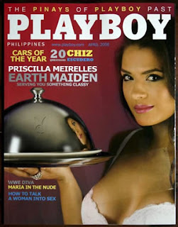 Playboy Philippines Covergirl Priscilla Mereilles