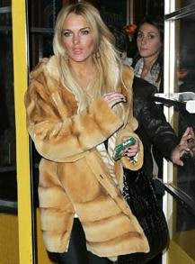 Lindsay Lohan Sex Video Scandal Steals $11,000 Fur Coat