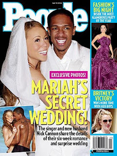 Mariah Carey And Nick Cannon Wedding Pics