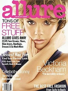 Victoria Beckham - Allure Magazine August 2008 Covergirl