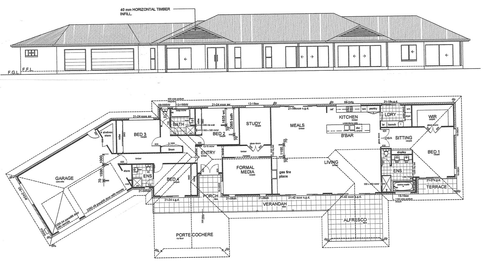 Samford valley house construction plans for Home building blueprints