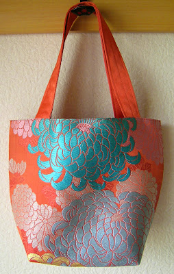 orange obi bag