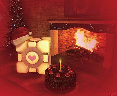Weighted Companion Cube Christmas