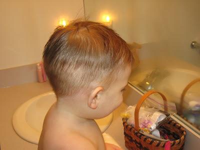 New Big Boy Haircut.