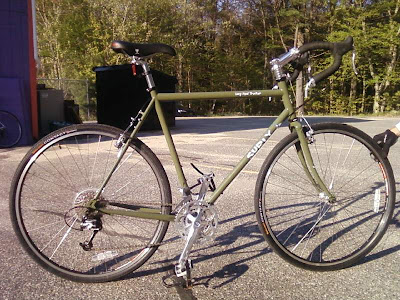 2009 Surly Long Haul Trucker in Olive green 58cm from exeter wheelpower wheel power bike shop, exeter  portsmouth seacoast nh