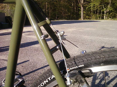 2009 Olive Green Surly Long Haul Trucker Portsmouth NH Seacoast Exeter Wheelpower touring bicycle giles cooper