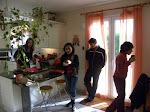 La cuisine avec les copines... et ses enfants