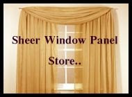 Sheer Window Panel