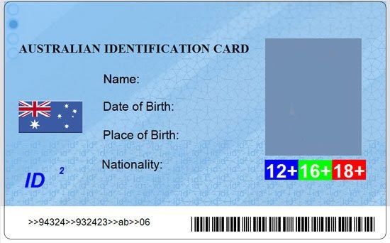 Sam and tim make your own australia id card pronofoot35fo Image collections