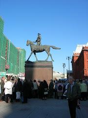 Le monument Joukov