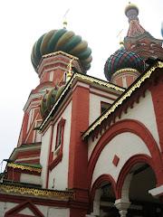 Cathédrale Saint-Basile sur la place rouge